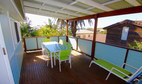 A balcony or terrace at Good Vibes, 18 East Street