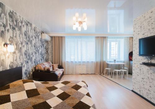 Гостиная зона в Apartment on Zvezdinka 5