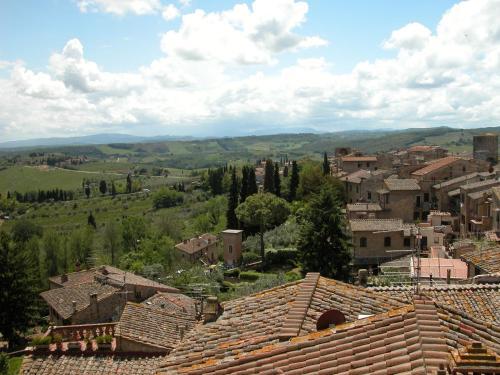 A bird's-eye view of Al Pozzo dei Desideri
