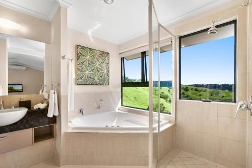 A bathroom at Top Of The Hill