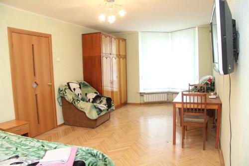 Гостиная зона в PiterFlat - Апартаменты на Лиговском 105