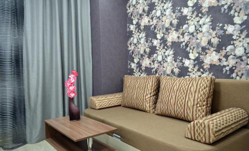 Гостиная зона в Apartments 40 Let Pobedy 51V