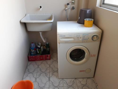 A bathroom at Apartamento Centro Caxias