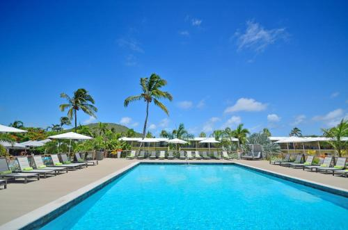 The swimming pool at or near Royal St. Kitts Hotel