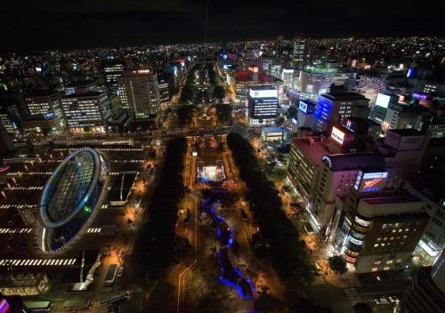 A bird's-eye view of APA Hotel Nagoya Nishiki Excellent
