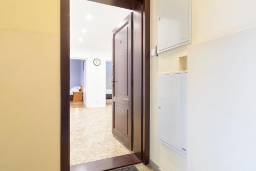 Łazienka w obiekcie Apartamenty Zielony przy MTP