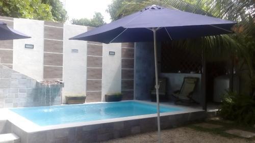 A piscina localizada em Aguasclaras Residencial ou nos arredores