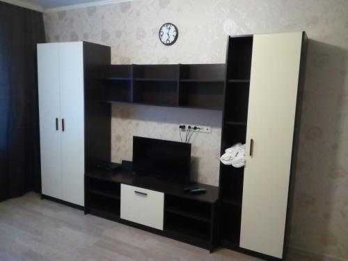 A television and/or entertainment center at Apartment in center of Balashikha