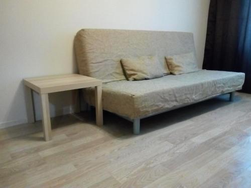A seating area at Apartment in center of Balashikha