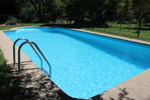 The swimming pool at or near Techo nevado