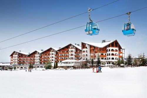 Kempinski Hotel Grand Arena during the winter