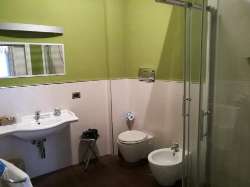 A bathroom at Hotel Bruman