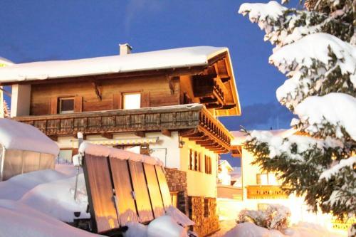 Haus Buchhammer im Winter