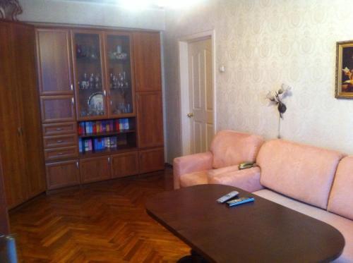 Гостиная зона в Apartment on Leninskiy Prospekt 41