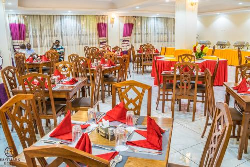 A restaurant or other place to eat at Eastmark Hotel