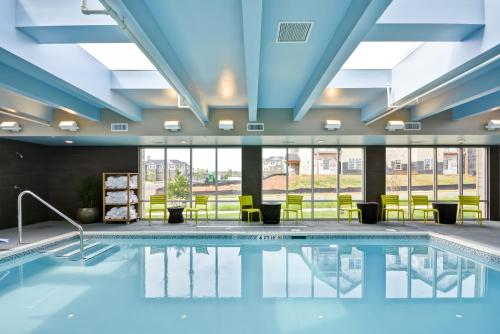 The swimming pool at or near Home2 Suites By Hilton Rock Hill