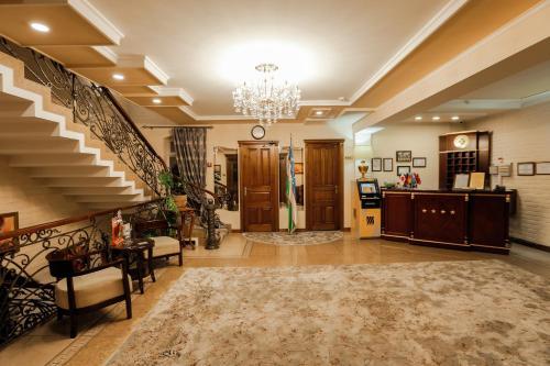 Hall ou réception de l'établissement Hotel BEK