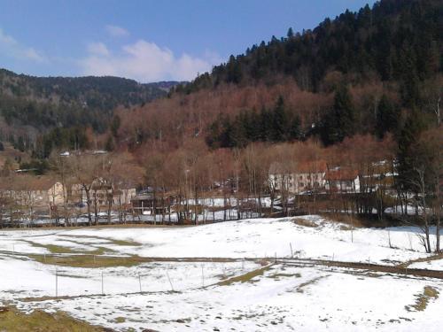 L'établissement Gite Familial Scaravella en hiver