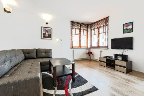 Część wypoczynkowa w obiekcie Sopockie Apartamenty - Aurora