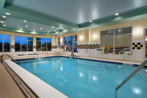 The swimming pool at or near Hilton Garden Inn Wilkes-Barre