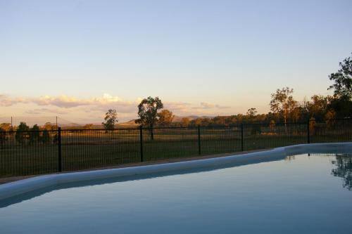 The swimming pool at or near Lockyer Motel