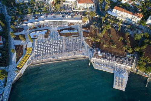 A bird's-eye view of Grand Hotel Park