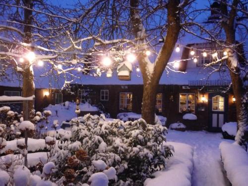 Sternhagens Landhaus im Winter