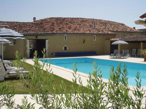 The swimming pool at or near L'Ancienne Distillerie