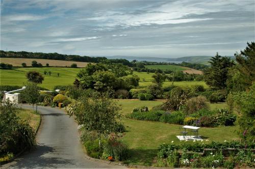A bird's-eye view of Harbour Hill Farm B&B