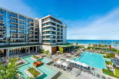 Uma vista da piscina em Grand Hyatt Rio de Janeiro ou nos arredores