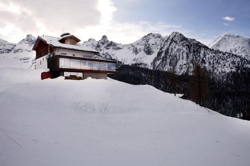 Crè Fornè Hotel & Spa during the winter