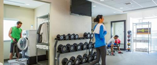 The fitness center and/or fitness facilities at Home2 Suites by Hilton Atlanta Norcross