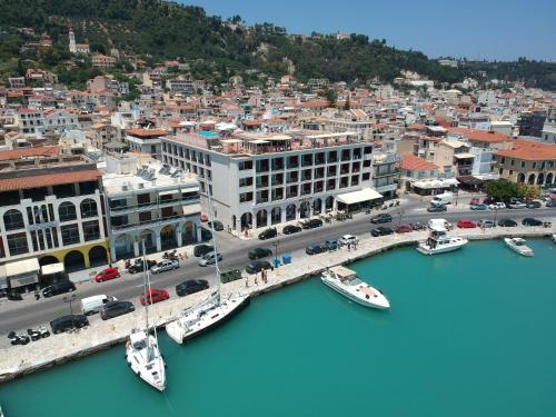 A bird's-eye view of Strada Marina