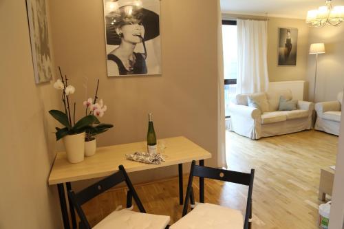 Area soggiorno di A&A Premium Apartments