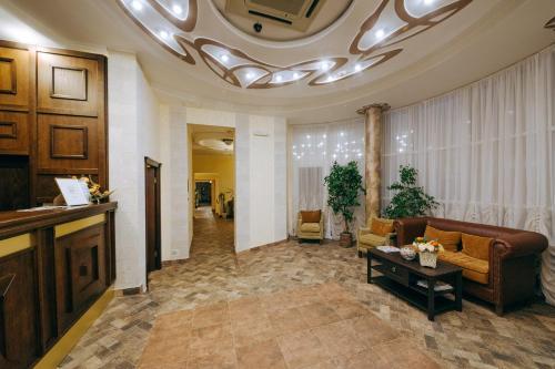 Лобби или стойка регистрации в Отель Арагон