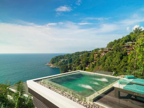 The swimming pool at or near Villa Samira