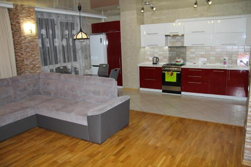 A kitchen or kitchenette at Apartment.Centre.Royal Gates