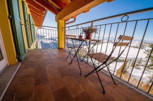 Balcone o terrazza di Agriostello delle Langhe