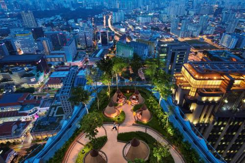 A bird's-eye view of Andaz Singapore – A Concept by Hyatt (SG Clean)