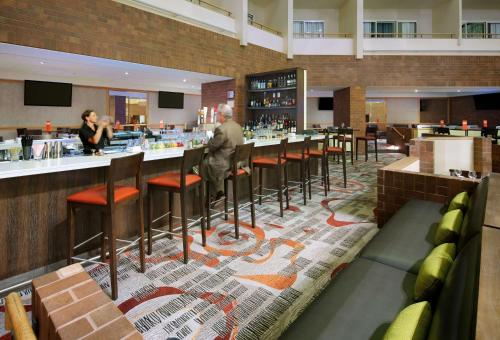 A restaurant or other place to eat at Hyatt Regency Princeton