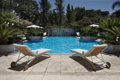 The swimming pool at or near Park Hyatt Mendoza Hotel, Casino & Spa