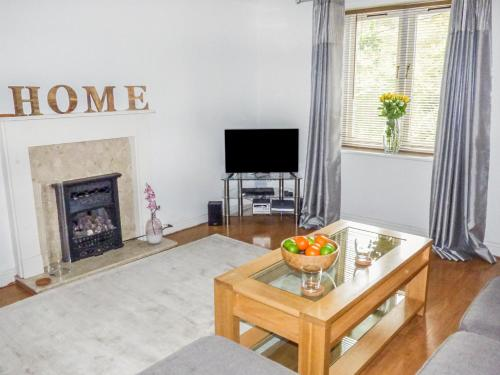 A television and/or entertainment center at Foxglove Cottage, Telford