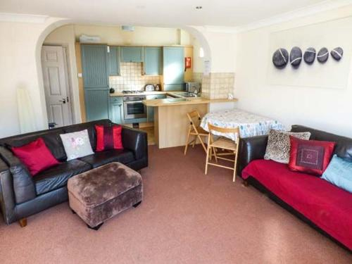 A seating area at Beach Retreat, Bournemouth