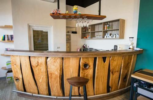 雲津客棧 酒吧或休息區