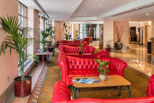 The lobby or reception area at Washington Mayfair Hotel