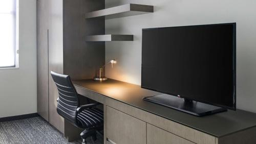 A television and/or entertainment centre at Hyatt House Jersey City