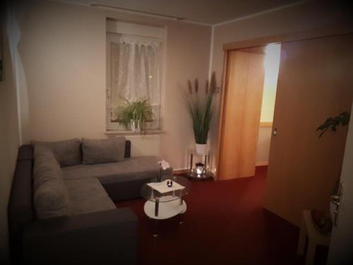 Ein Sitzbereich in der Unterkunft Hotel Eigen