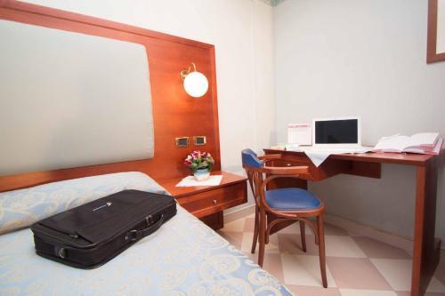 TV o dispositivi per l'intrattenimento presso Hotel Costazzurra