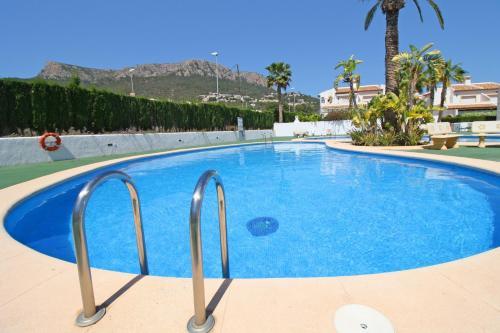 Het zwembad bij of vlak bij Bungalows Puerta de Calpe