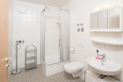 Ein Badezimmer in der Unterkunft GWG City Apartments V